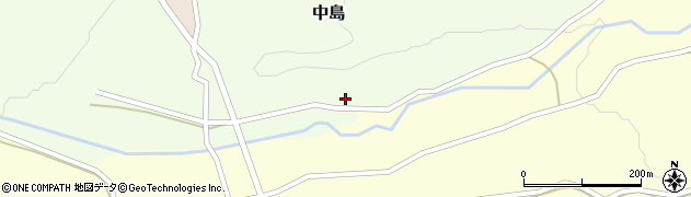 山形県尾花沢市中島171周辺の地図