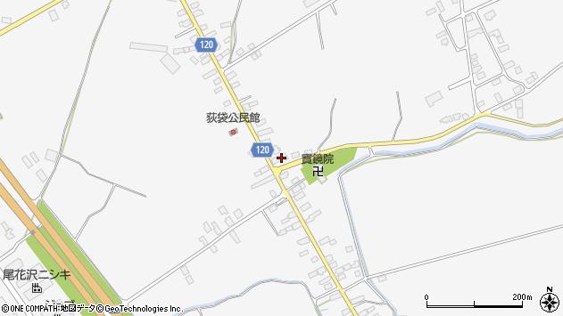 山形県尾花沢市荻袋756周辺の地図