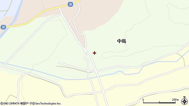 山形県尾花沢市中島159周辺の地図