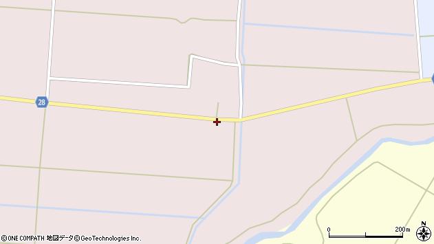 山形県尾花沢市正厳715周辺の地図