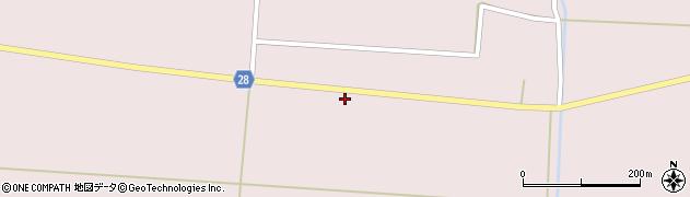 山形県尾花沢市正厳664周辺の地図