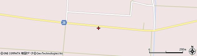 山形県尾花沢市正厳662周辺の地図