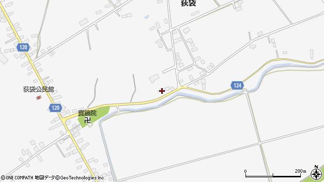 山形県尾花沢市荻袋1728周辺の地図