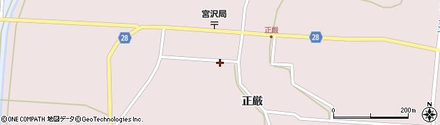 山形県尾花沢市正厳476周辺の地図