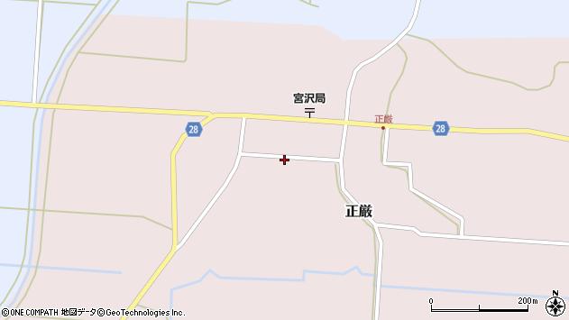 山形県尾花沢市正厳472周辺の地図