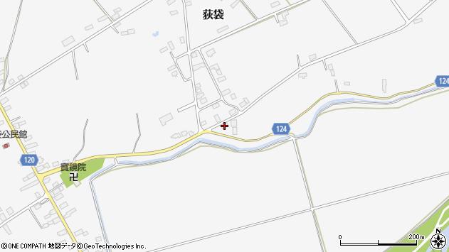 山形県尾花沢市荻袋1451周辺の地図