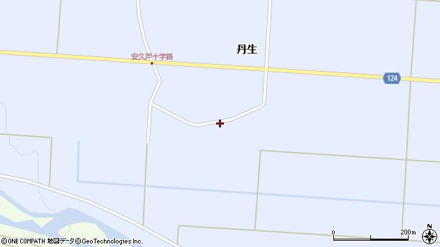 山形県尾花沢市丹生604周辺の地図