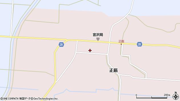 山形県尾花沢市正厳451周辺の地図