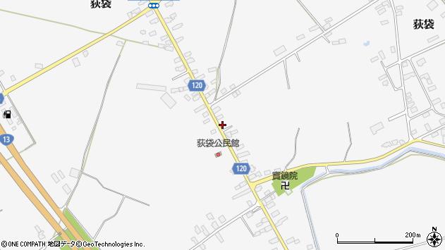 山形県尾花沢市荻袋765周辺の地図