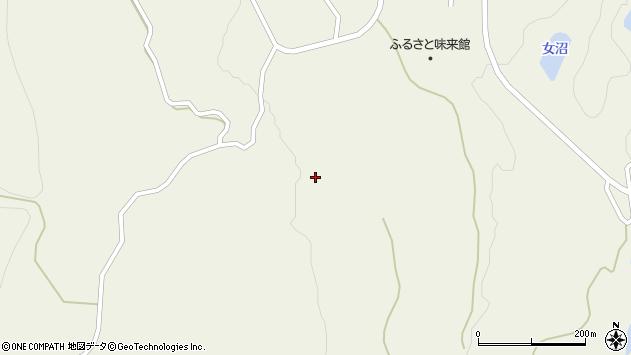 山形県最上郡大蔵村南山豊牧周辺の地図