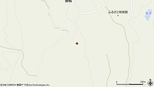 山形県最上郡大蔵村南山914周辺の地図