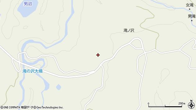 山形県最上郡大蔵村南山1166周辺の地図