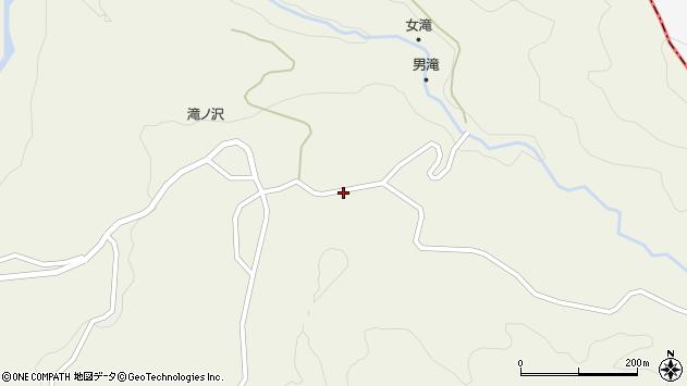 山形県最上郡大蔵村南山1142周辺の地図