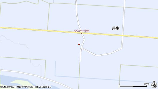 山形県尾花沢市丹生581周辺の地図