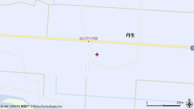 山形県尾花沢市丹生589周辺の地図