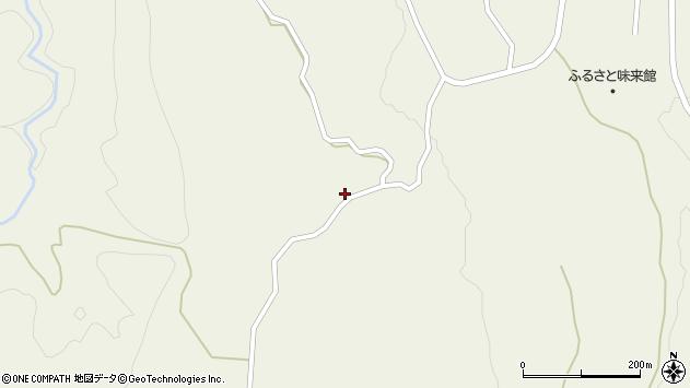 山形県最上郡大蔵村南山722周辺の地図