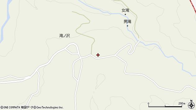 山形県最上郡大蔵村南山1143周辺の地図