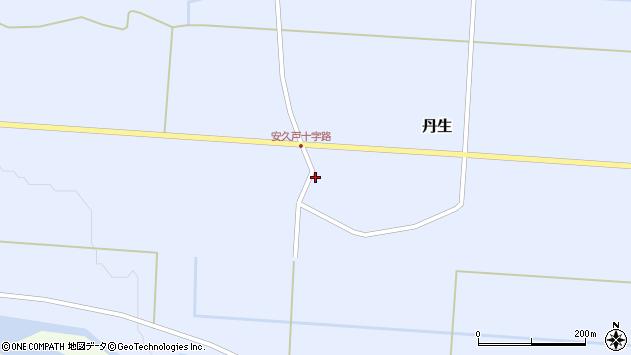 山形県尾花沢市丹生583周辺の地図