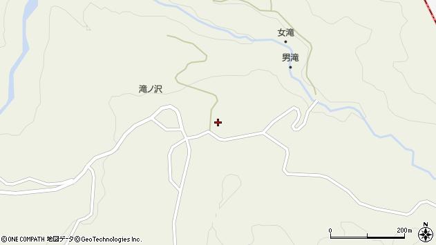山形県最上郡大蔵村南山1141周辺の地図