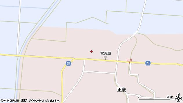 山形県尾花沢市正厳564周辺の地図
