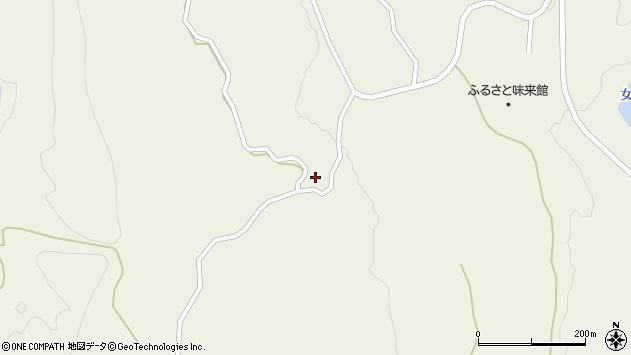 山形県最上郡大蔵村南山908周辺の地図