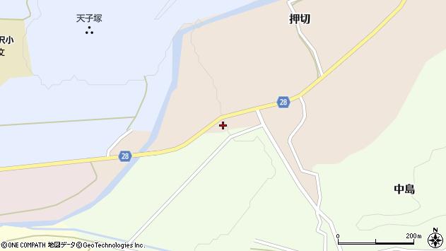 山形県尾花沢市押切972周辺の地図
