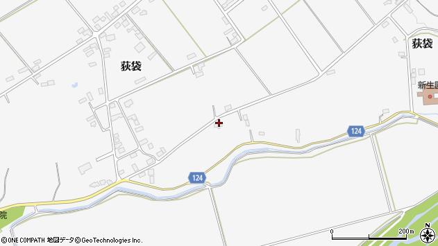 山形県尾花沢市荻袋1292周辺の地図