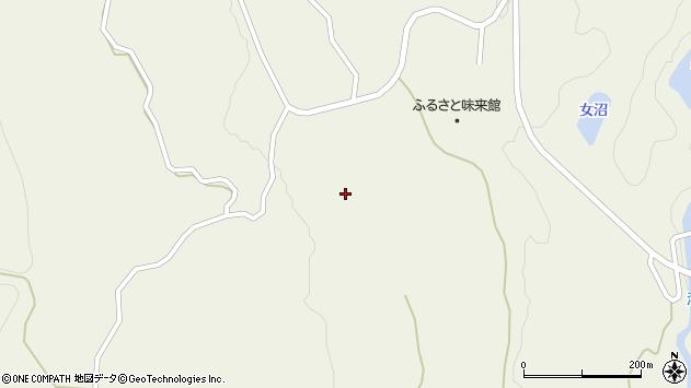 山形県最上郡大蔵村南山831周辺の地図