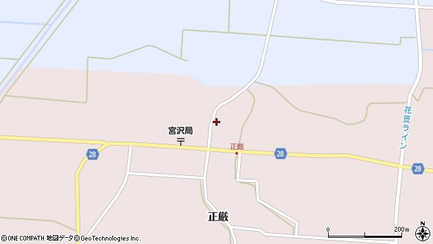 山形県尾花沢市正厳546周辺の地図