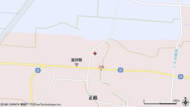 山形県尾花沢市正厳547周辺の地図
