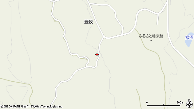 山形県最上郡大蔵村南山904周辺の地図