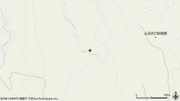 山形県最上郡大蔵村南山882周辺の地図
