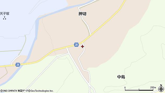 山形県尾花沢市押切996周辺の地図