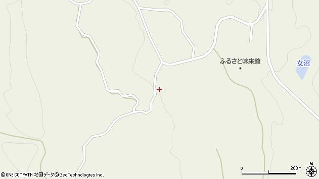 山形県最上郡大蔵村南山853周辺の地図