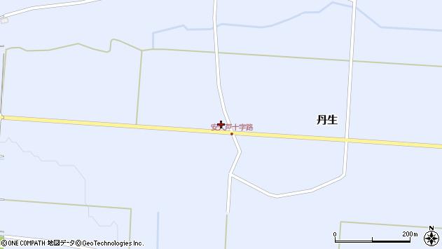 山形県尾花沢市丹生574周辺の地図