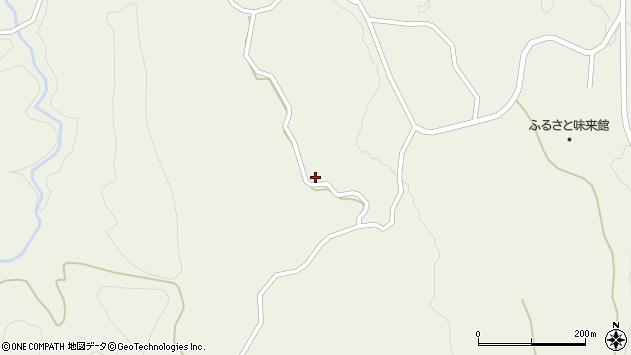 山形県最上郡大蔵村南山880周辺の地図