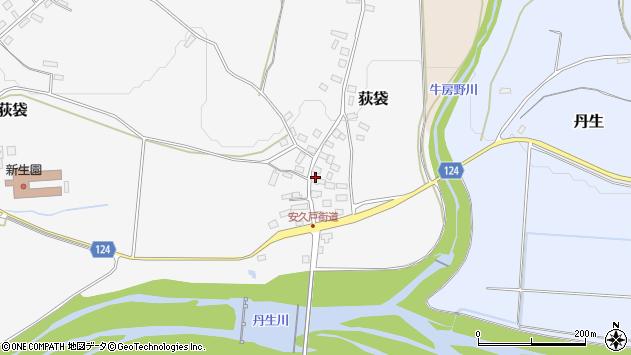 山形県尾花沢市荻袋1012周辺の地図