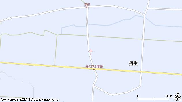 山形県尾花沢市丹生571周辺の地図