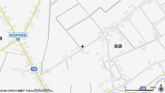 山形県尾花沢市荻袋1561周辺の地図