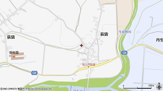 山形県尾花沢市荻袋1085周辺の地図