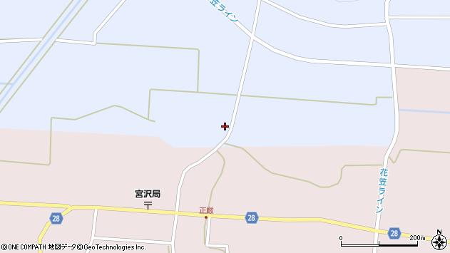 山形県尾花沢市丹生229周辺の地図