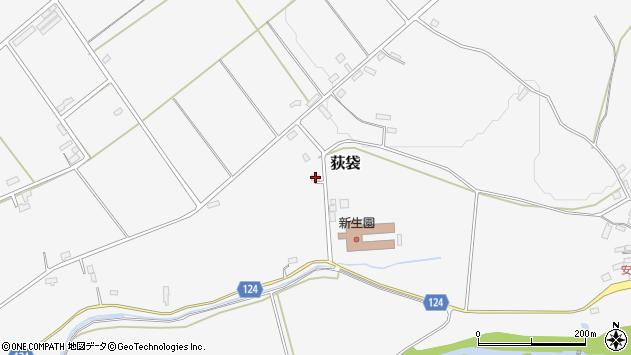 山形県尾花沢市荻袋1324周辺の地図