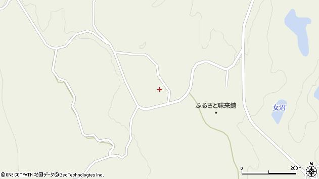 山形県最上郡大蔵村南山806周辺の地図