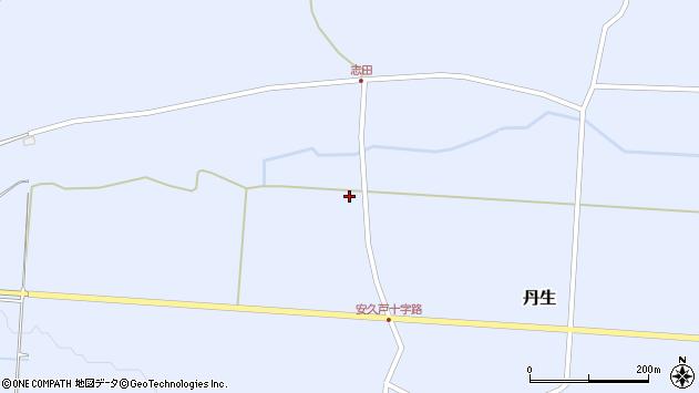 山形県尾花沢市丹生1077周辺の地図