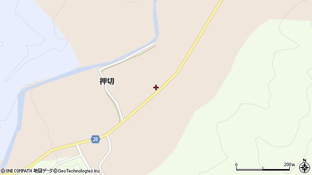 山形県尾花沢市押切171周辺の地図