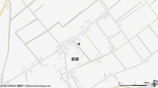 山形県尾花沢市荻袋荻袋開拓周辺の地図