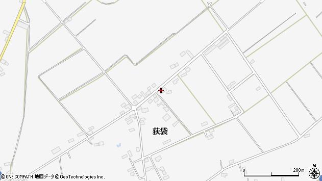 山形県尾花沢市荻袋1682周辺の地図