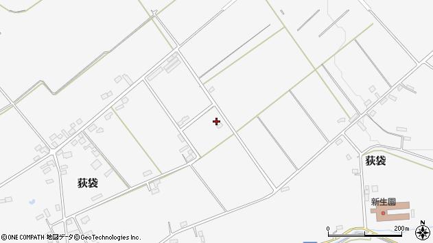 山形県尾花沢市荻袋1630周辺の地図