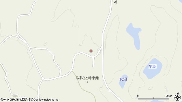 山形県最上郡大蔵村南山3282周辺の地図