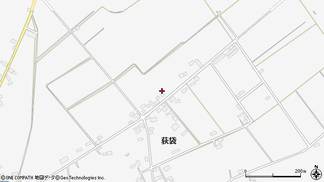 山形県尾花沢市荻袋1557周辺の地図